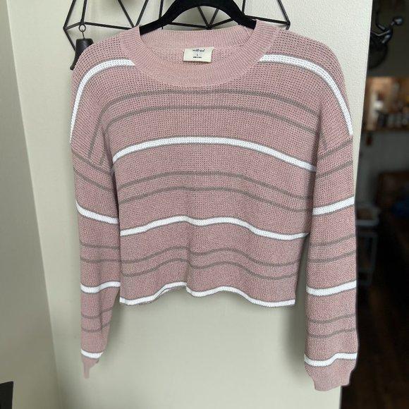 Aritzia Wilfred Crop Sweater